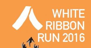 white ribbon run