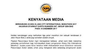 2017 - 11122017 - PRESS RELEASE PJS BERHUBUNG KLANG CITY INTERNATIONAL MARATHON-page-001 - Copy