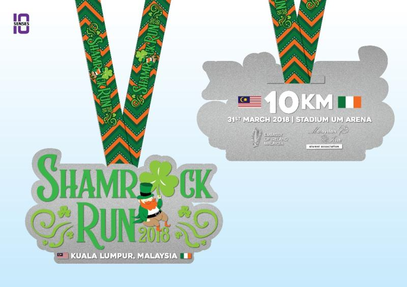 Shamrock Run 2018 PROMO-MEDAL