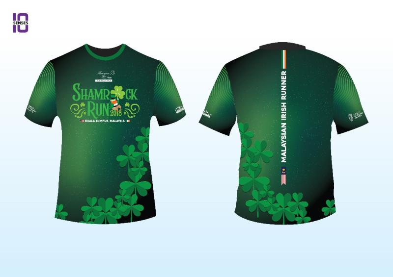 Shamrock Run 2018 PROMO-TSHIRT